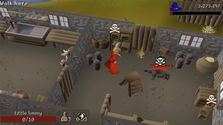 OSRS PvP Battle Screenshot