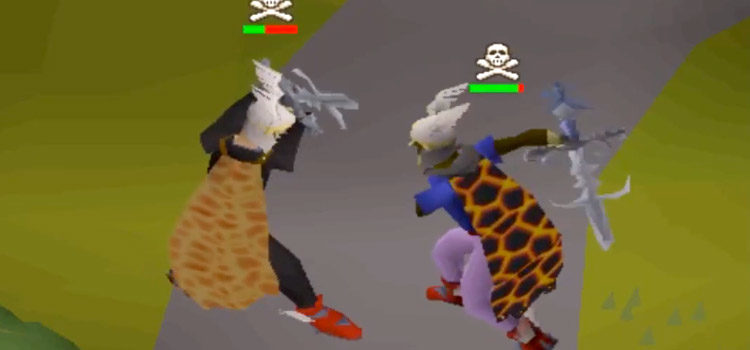 What is Risk Fighting in Old School RuneScape?