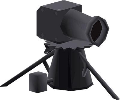 Dwarf Multicannon OSRS Render