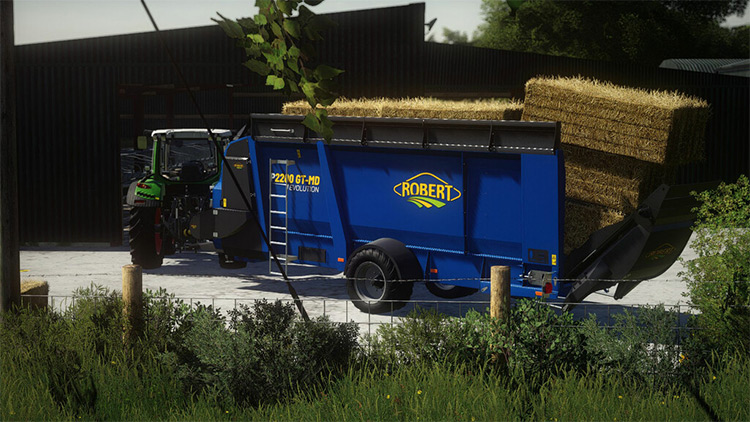 Robert P2200 Mod for Farming Simulator 19