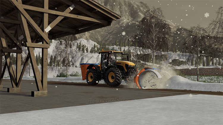 Hauer Snow Pack Mod for FS19