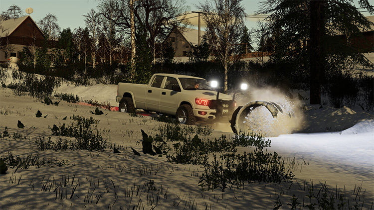 NMC Pickup Blade Mod for Farming Simulator 19