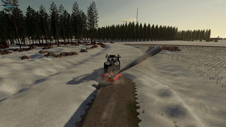 Snow Blower Esko Mod for FS19