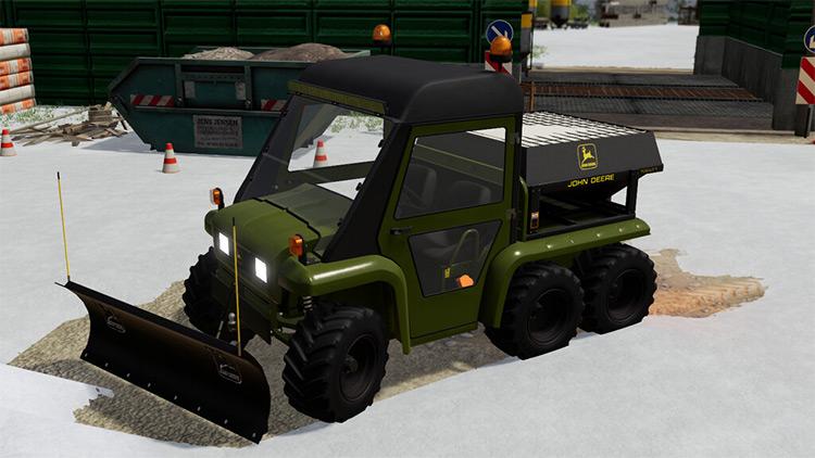 Gator Snow Pack Farming Simulator 19 Mod
