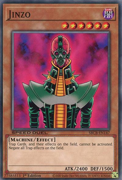 Jinzo Yu-Gi-Oh Card