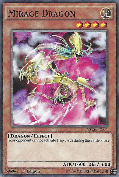 Mirage Dragon Yu-Gi-Oh Card