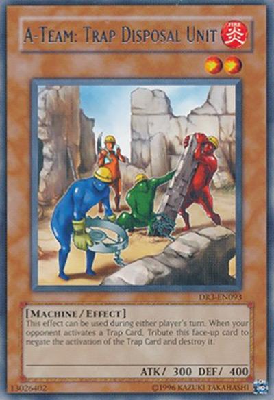 A-Team: Trap Disposal Unit YGO Card