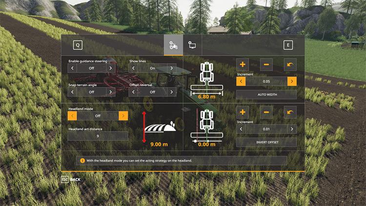 Guidance Steering Farming Simulator 19 Mod