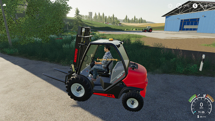 Engine Starter Farming Simulator 19 Mod