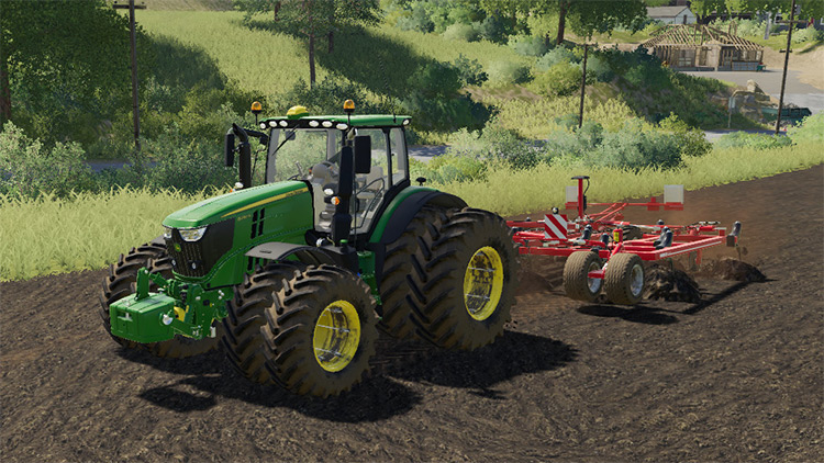 Added Realism For Vehicles Mod for FS19