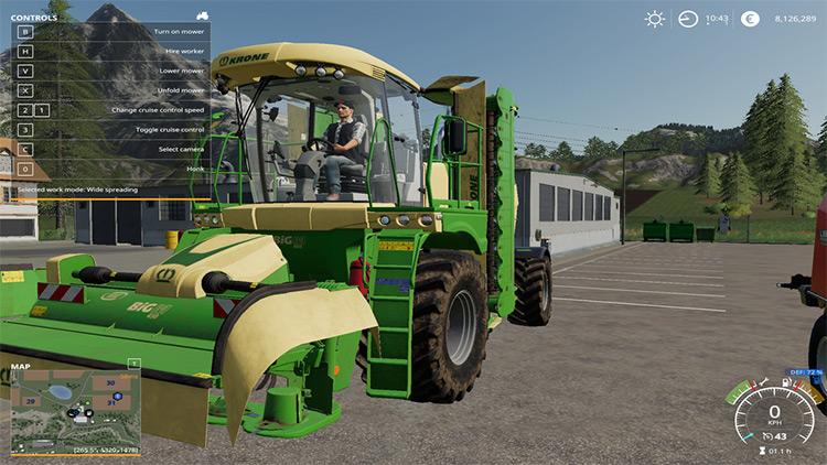 DEF Pack Mod for Farming Simulator 19