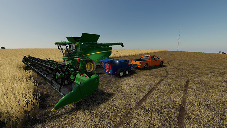 Increased Fuel Consumption Mod for FS19