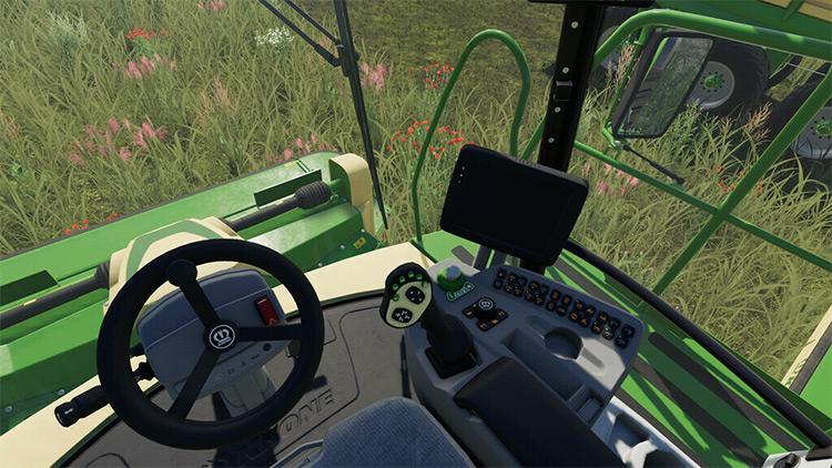 Realistic Cab View Farming Simulator 19 Mod