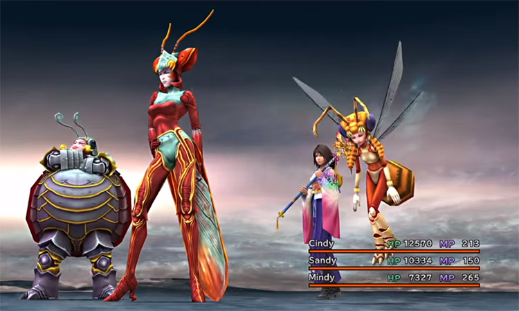 Magus Sisters in Final Fantasy X HD