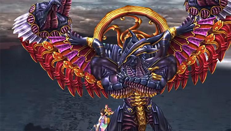 Bahamut Aeon in Final Fantasy X HD