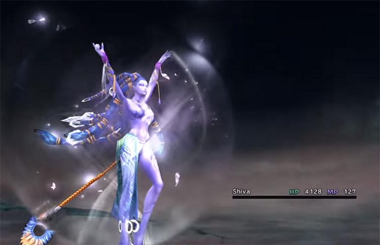 Shiva Aeon in Final Fantasy X HD