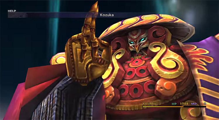 Yojimbo Aeon in Final Fantasy X HD