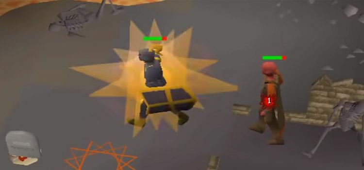 Dragon Claws Battle Screenshot from Old School RuneScape