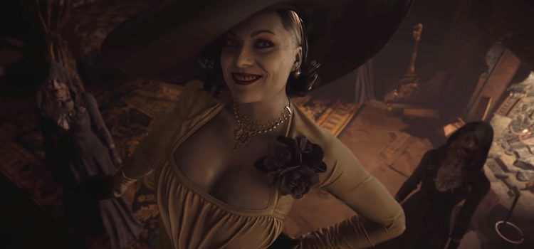 Resident Evil's 'Lady Dimitrescu' Steps On Competition in List Of Sexiest Video Game Characters