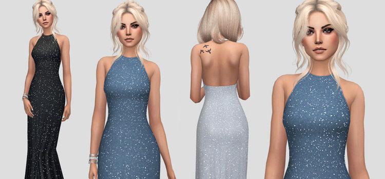 Best Sims 4 Long Dresses (Free CC + Mods)