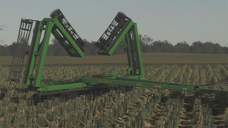 John Deere 200 Cultivator FS19 Mod