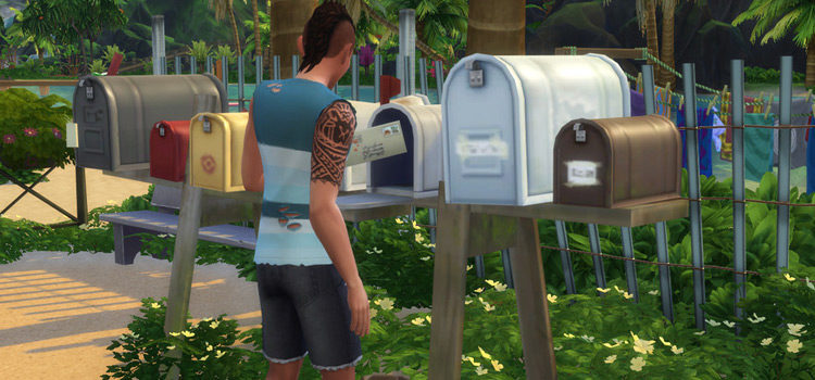 Custom Mailboxes For The Sims 4: Free CC & Mods