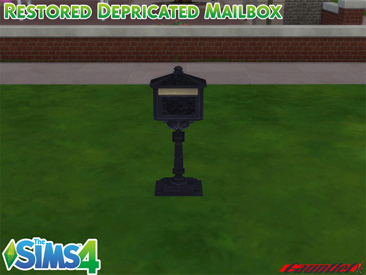 Restored Deprecated Mailbox CC for The Sims 4