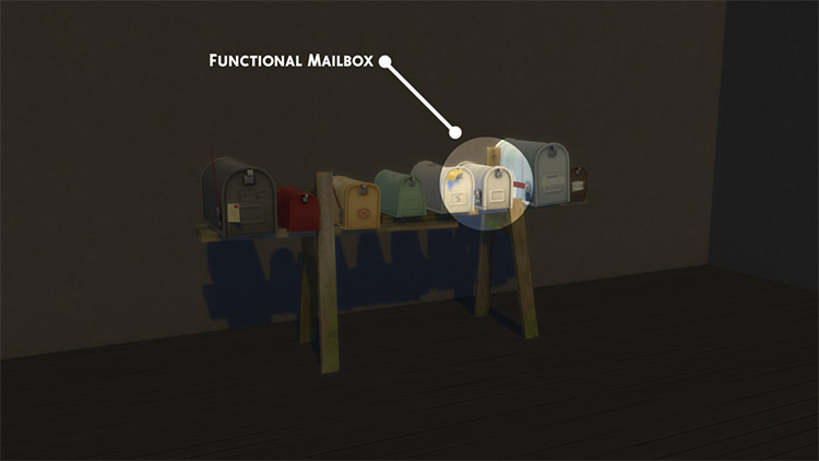 Sulani Community Mailboxes for Island Living / TS4 CC