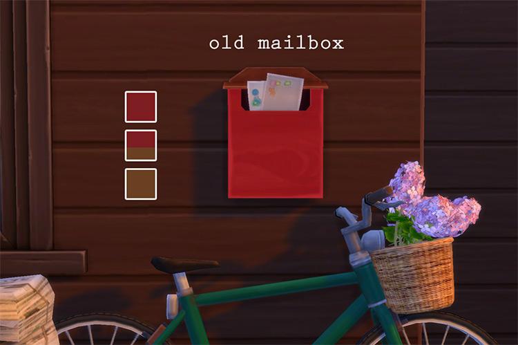 Old Mailbox Design / TS4 CC