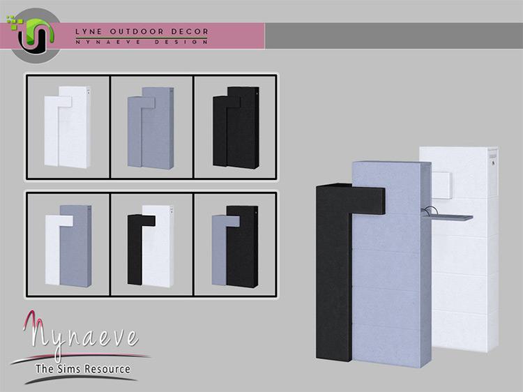 Lyne Mailbox / Sims 4 CC