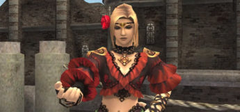 FFXI Dancer Girl Screenshot