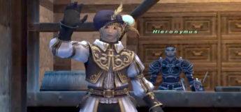 Waving bard character in Final Fantasy XI