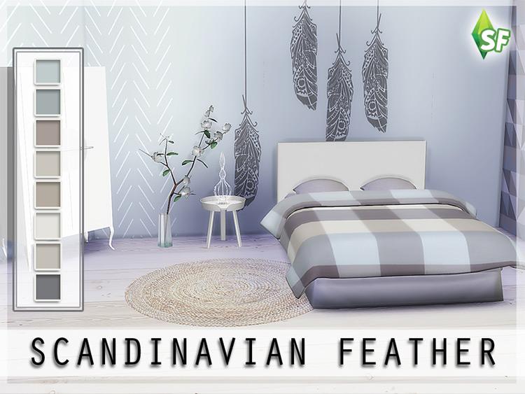 Scandinavian Wall Set / TS4 CC