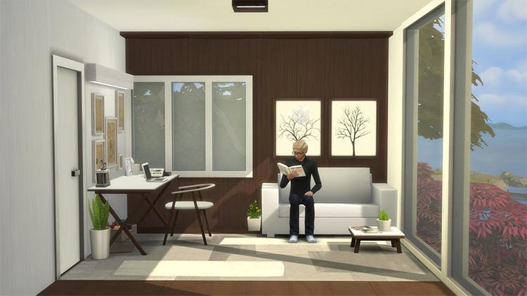 TS4 Minimalist Bedroom Stuff Pack / Sims 4 CC