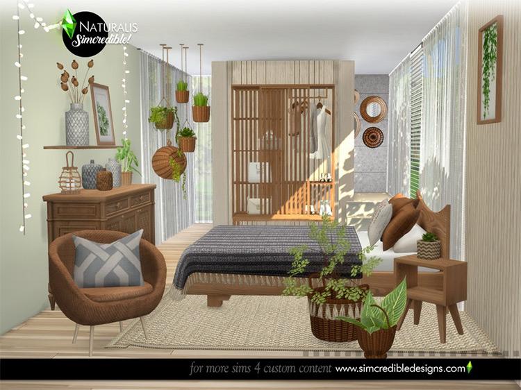 Naturalis Bedroom / TS4 CC