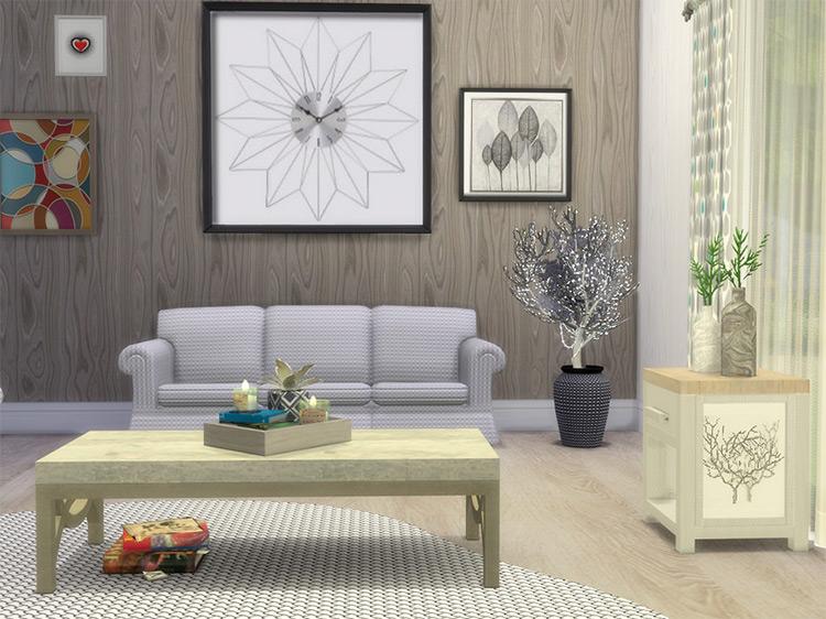 Scandinavian Living Set / TS4 CC