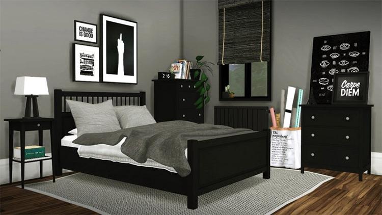 IKEA Hemnes Bedroom / TS4 CC