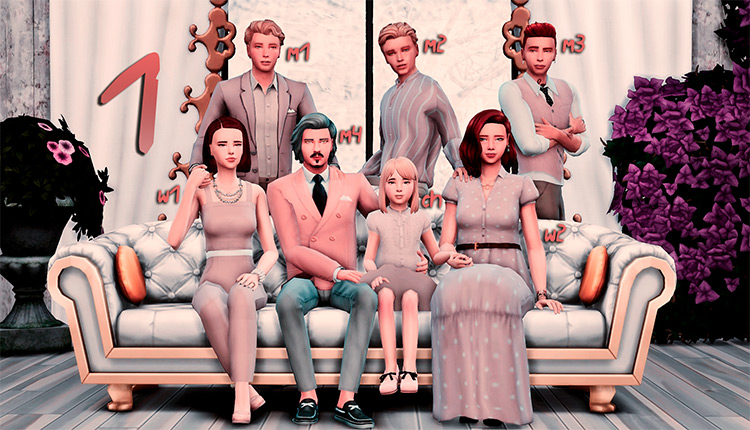 LEGACY Pose Pack / Sims 4 CC