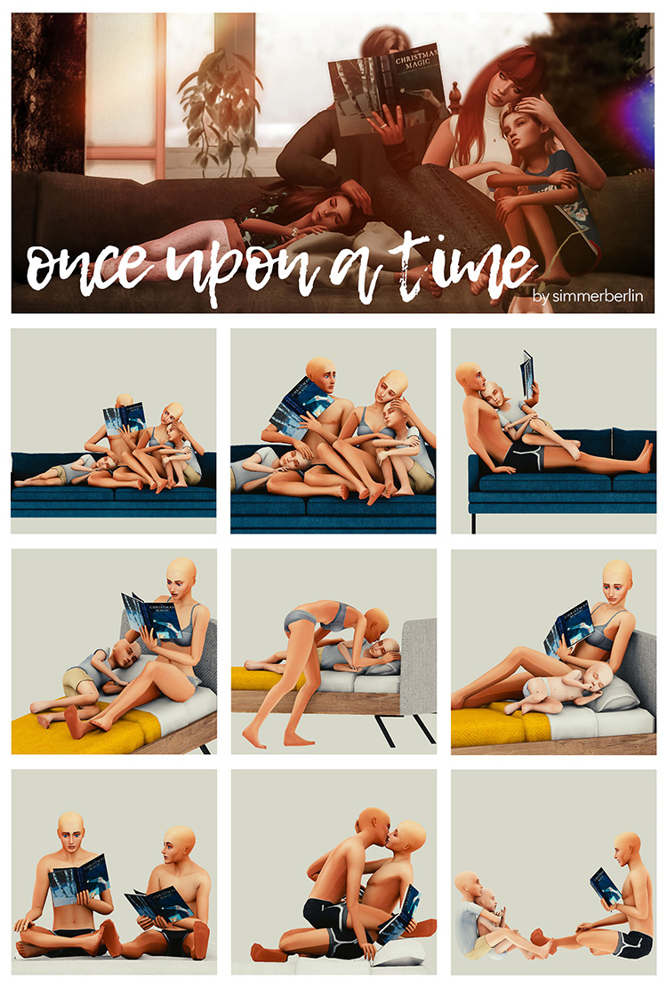 Day 15: Once Upon a Time Poses / Sims 4 CC