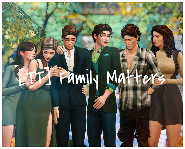 [TT] Family Matters Posepack / TS4 CC