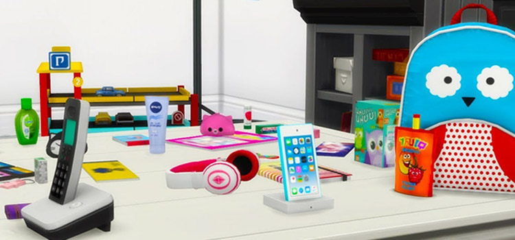 Sims 4 Kids & Baby Clutter Preview