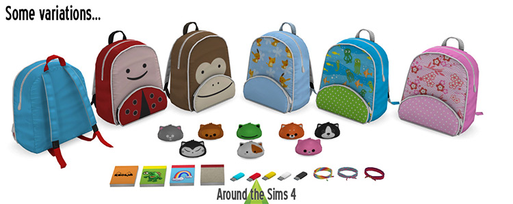 What's In My Bag? Clutter for The Sims 4