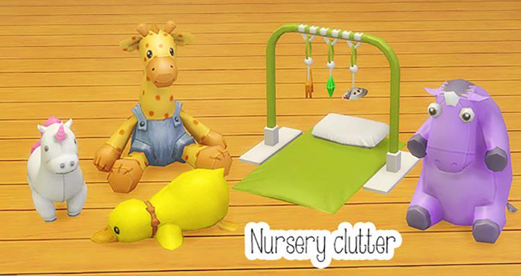 Nursery Clutter Sims 4 CC