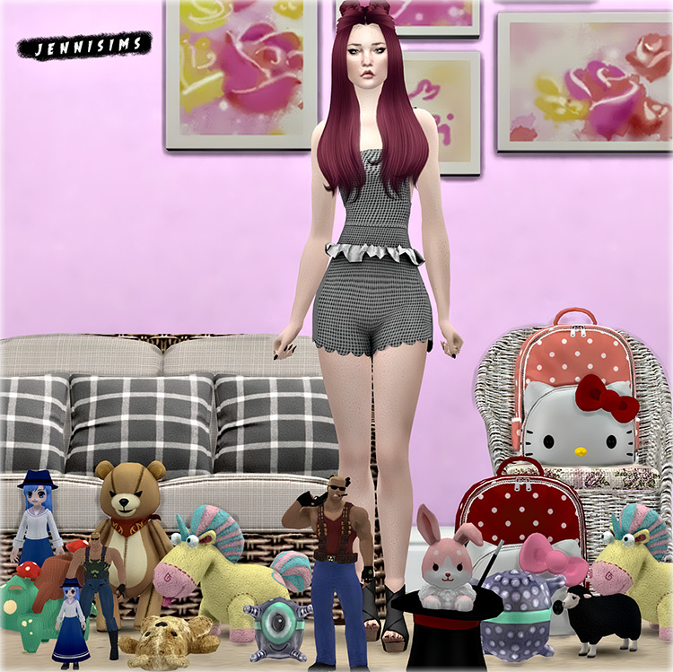 Kids Toy Clutter Sims 4 CC