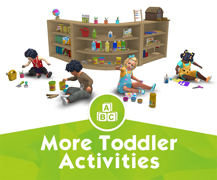 More Toddler Activities for Sims 4