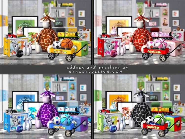 Kids Decor and Toys TS4 CC