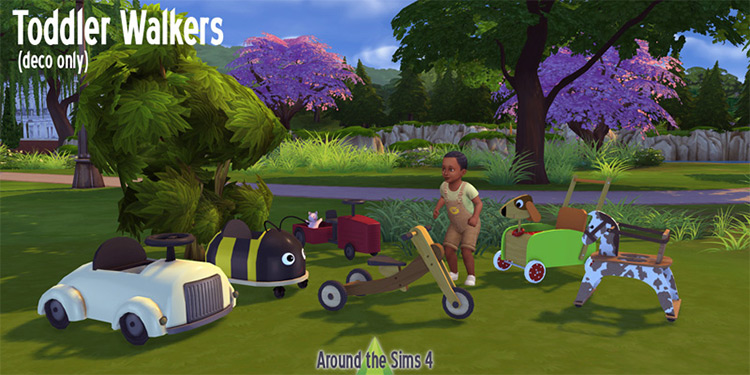 Toddler Walkers Sims 4 CC