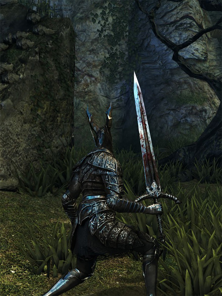 Black Knight Sword in DS1 Remastered