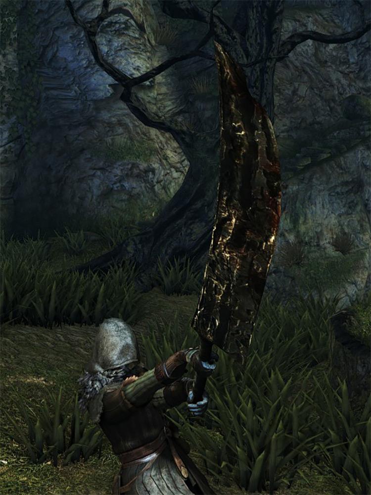 Man-Serpent Greatsword in DS1 Remastered