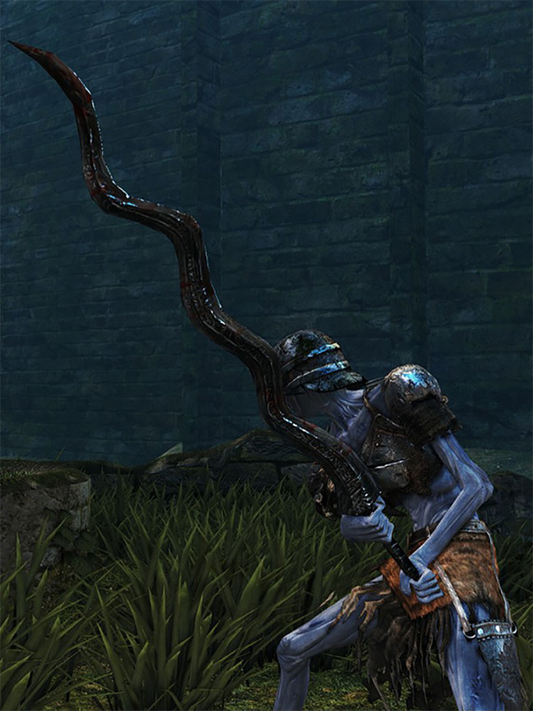 Flamberge from Dark Souls 1 Remastered